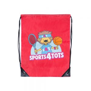 Sports 4 Tots Drawstring Bag